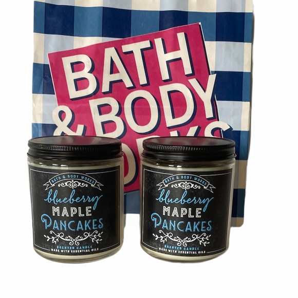 Bath & Body Works Blueberry Maple Pancakes Candles